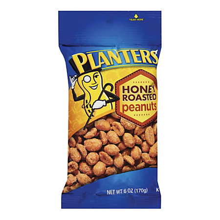 Planters Honey Roasted Peanuts 6 oz