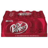 Dr. Pepper Bottle 20 oz 24 pk
