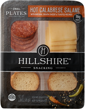Hillshire Snacking Hot Calabrese Salame Small Plates