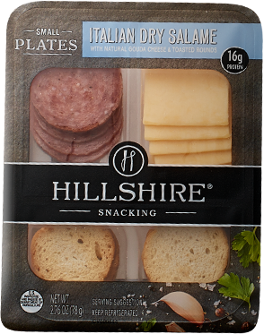 Hillshire Snacking Italian Dry Salame Small Plates