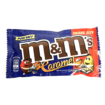 M&M's Caramel Share Size 2.83 oz