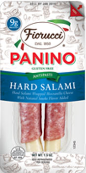 Fiorucci Panino Hard Salami and Cheese Fingers 1.5 oz