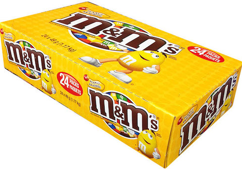 M&M Peanut 24 ct
