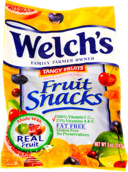 Welch's Tangy Fruits 5oz