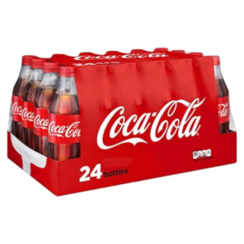 Coke bottle 20 oz 24pk Case