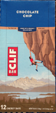 Clif Bar Chocolate Chip 2.4 oz 12 ct