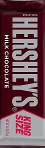 Hershey's Chocolate Bar King Size 2.6 oz