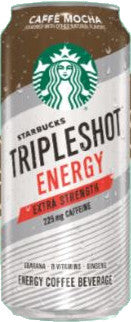 Starbucks Tripleshot Energy Cafe Mocha