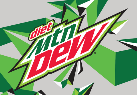 Diet Mountain Dew Bottle 20 oz 24 pk