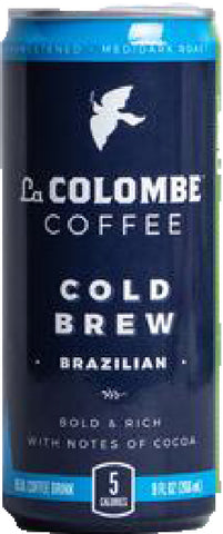 La Colombe Cold Brew Brazilian Coffee 9 oz