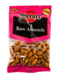 Werner Raw Almonds 2.25oz