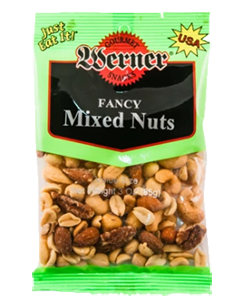 Werner Fancy Mixed Nuts 3oz