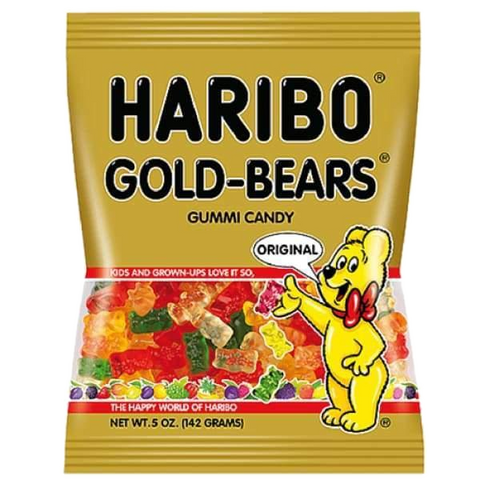 Haribo GOLD BEARS 5 oz