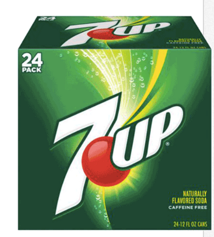 7 Up Bottle 20 oz 24 ct