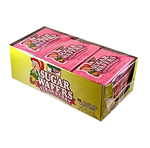 Keebler Sugar Wafers Strawberry  12 ct