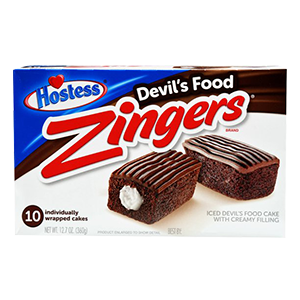 Hostess Chocolate Zingers, 6 pk