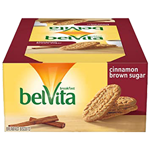 Belvita Breakfast Biscuit Cinnamon Brown Sugar 1.76 oz, 8 ct