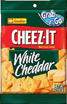 Cheez-It White Cheddar 3 oz, 6 ct