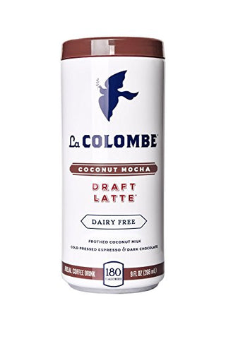 La Colombe Coconut Mocha Draft Latte 9 oz 12pk