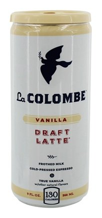 La Colombe Vanilla Draft Latte 9 oz 12pk