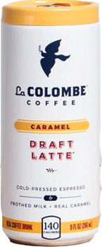 La Colombe Caramel Draft Latte 9 oz 12pk