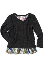 Appaman Sparkle Black Valley Top- Size 8