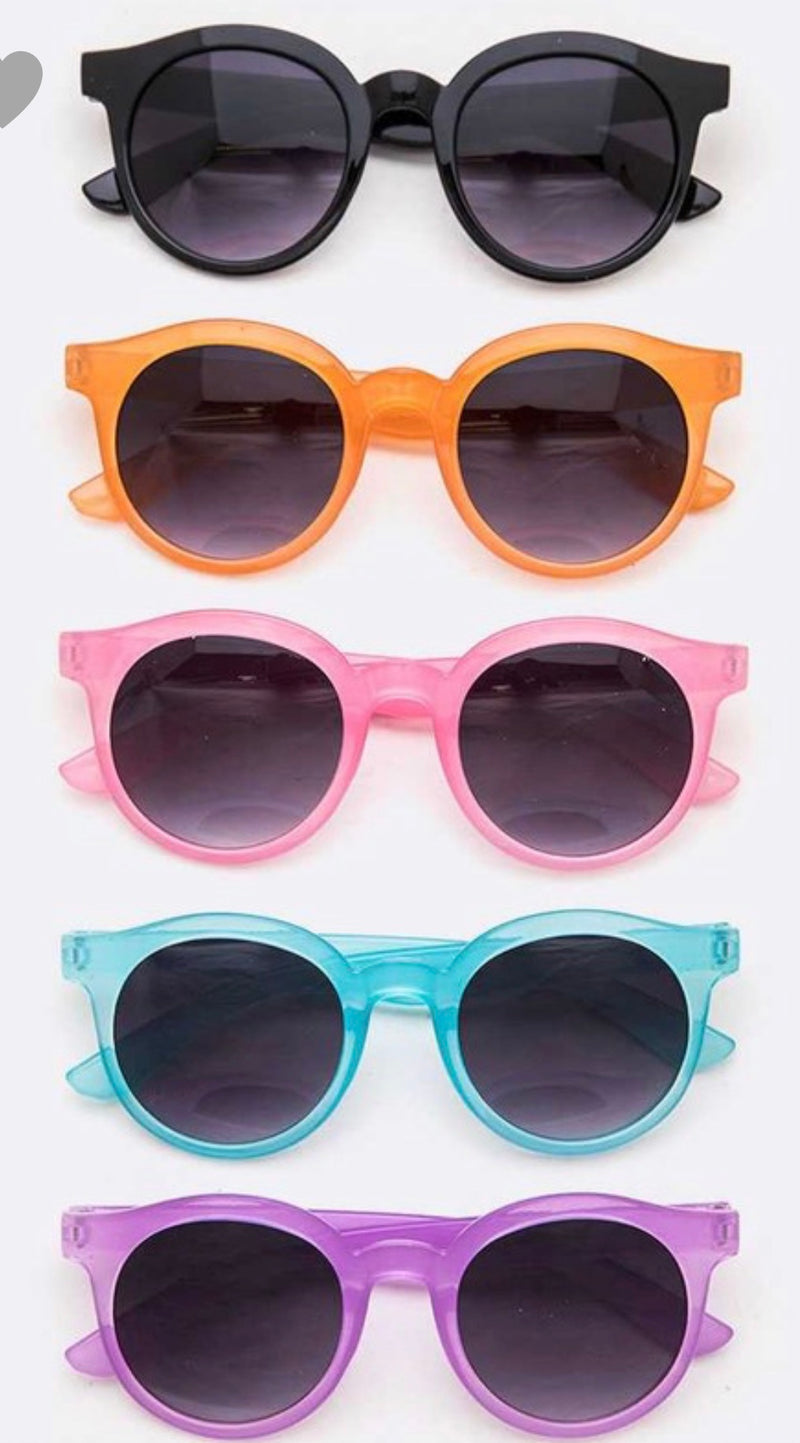 Kids Fashion Kids Round Sunglasses