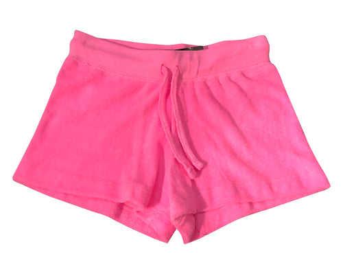 Flowers by Zoe Hot Pink Terry Shorts