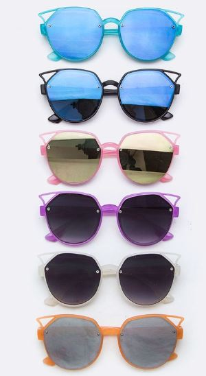 Kids Fashion Kitty Cat Ear Sunglasses