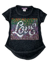 Sparkle by Stoopher Love Hi Low Tee