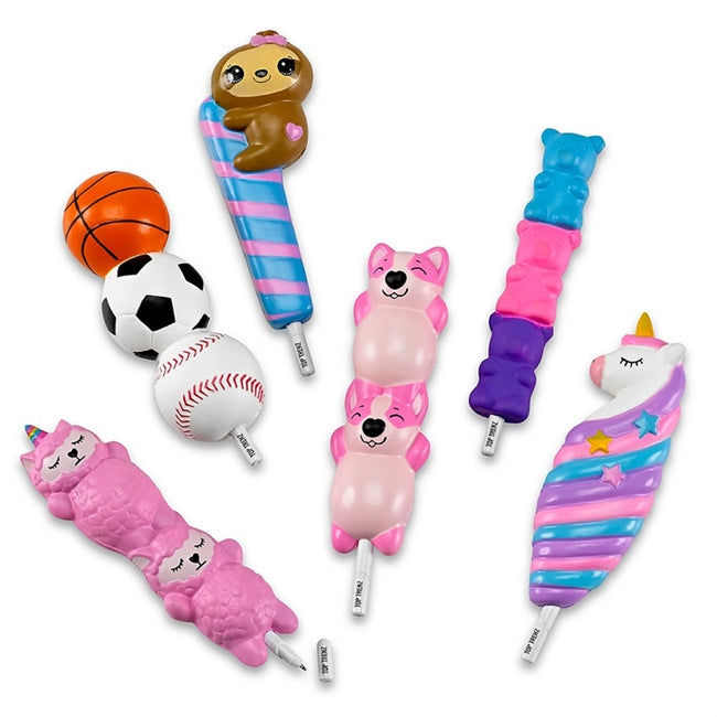 Top Trenz SQUISHY SQUAD scented Pens series 2