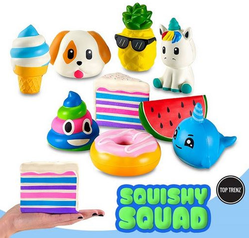 Top Trenz SQUISHY SQUAD -JUMBO SIZE- Watermelon Scented