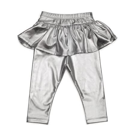 Sweet Wink Tutu Leggings - Silver