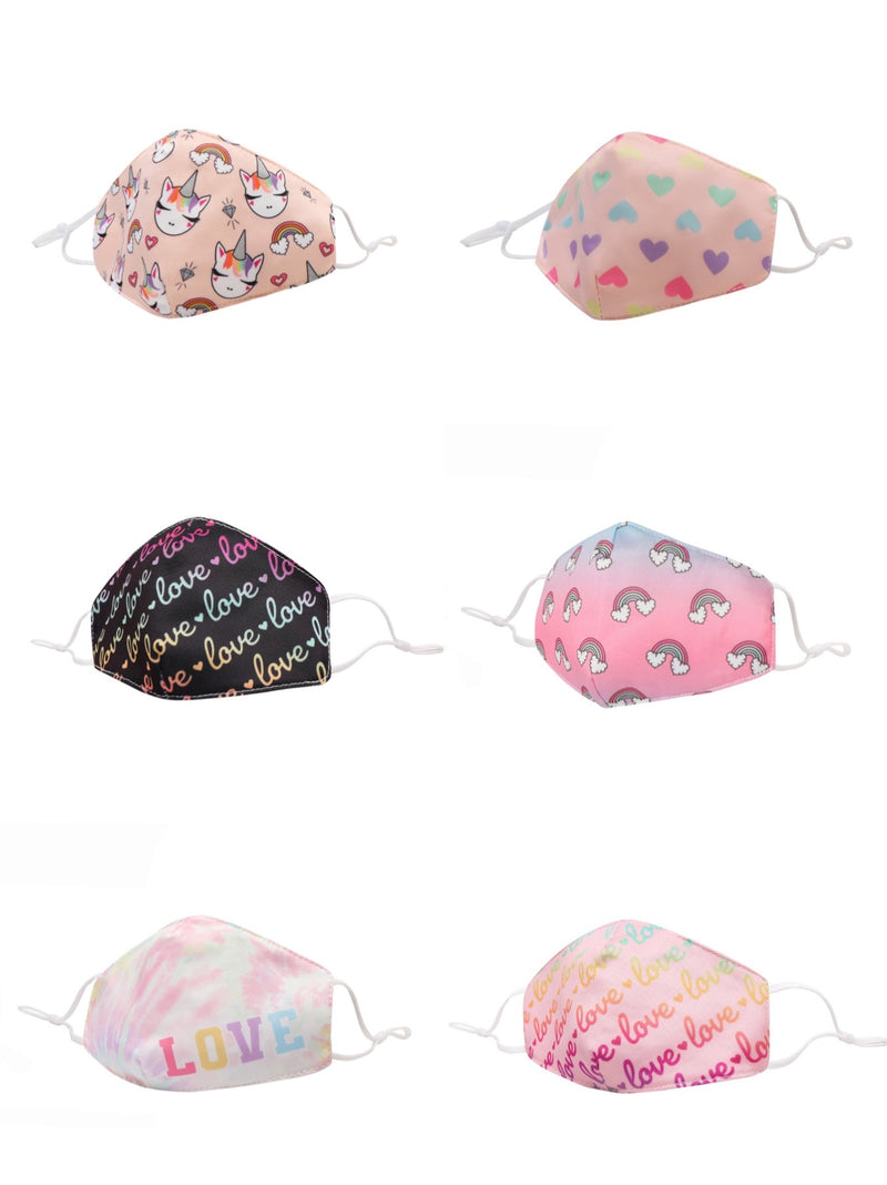 O.M.G. Accessories Girls Face Masks