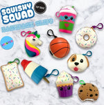 Top Trenz  Squishy Squad Backpack Clips