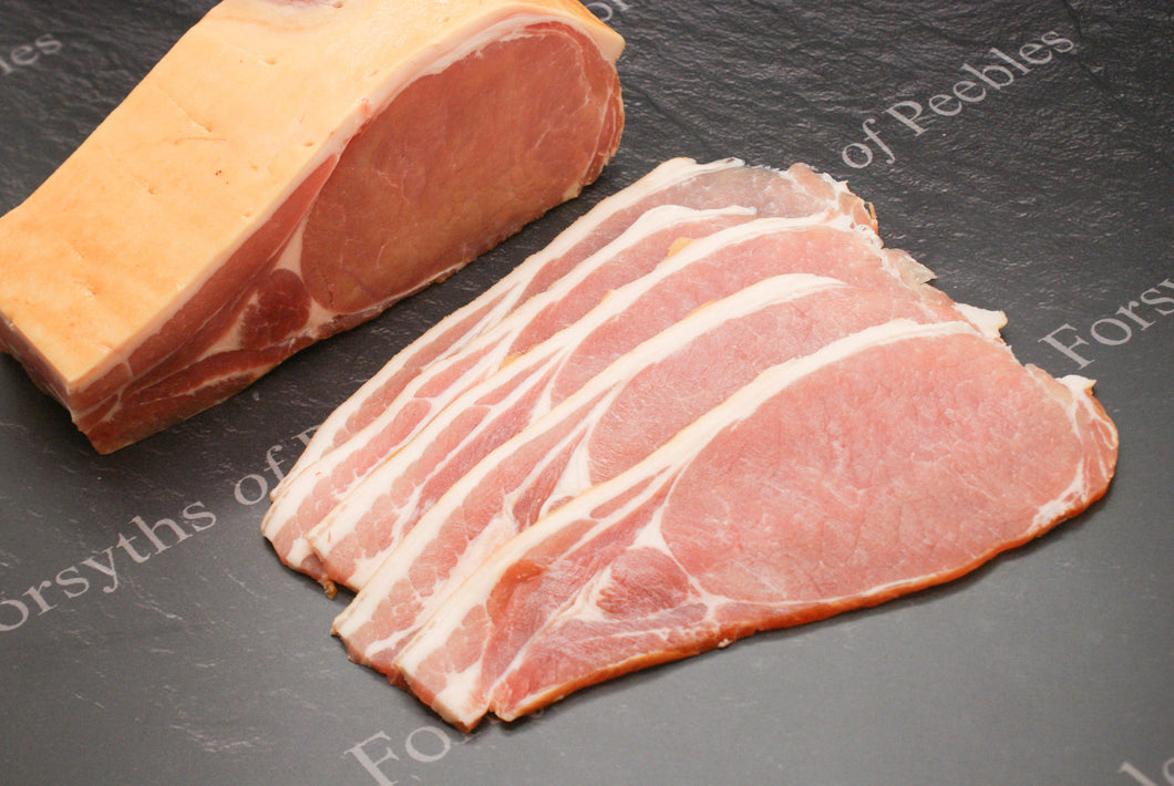 WILTSHIRE BACON (SMOKED) 225g (1/2 lb)