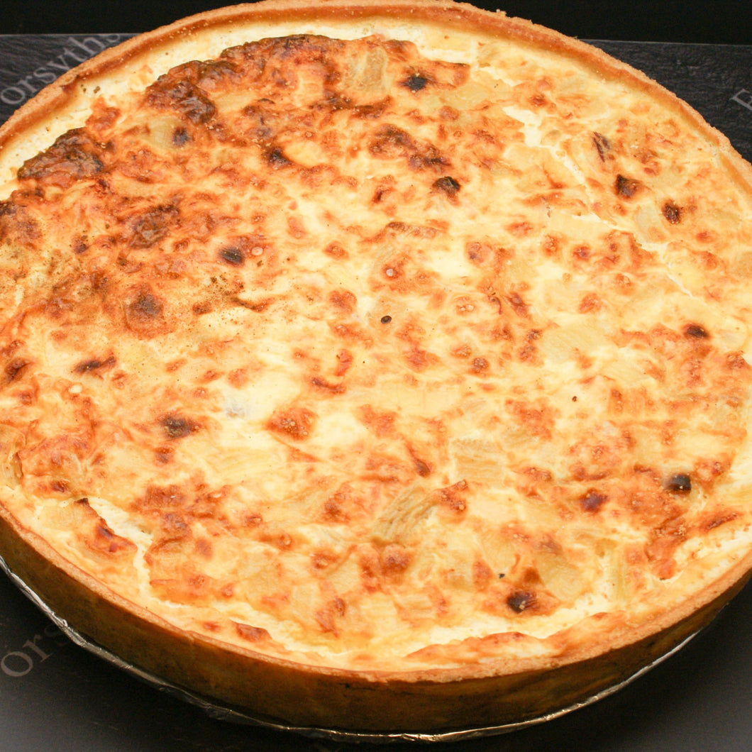 CHEESE & HAM QUICHE (2-3 Persons)