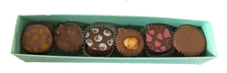 6 Piece Truffle and Cluster Box (3 Pack)