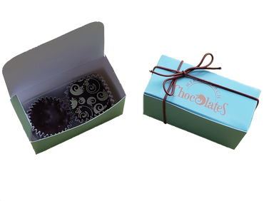 2 Piece Truffle and Cluster Box (6 Pack)