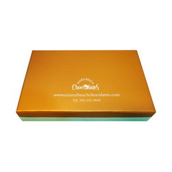 Miami Beach 15pc Chocolate Truffles & Clusters Gift Box