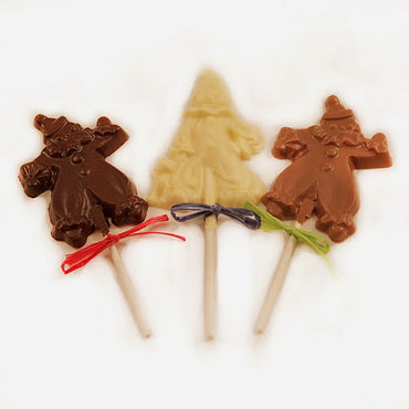 Chocolate Dancing Clown Lollipops (4 Pack)