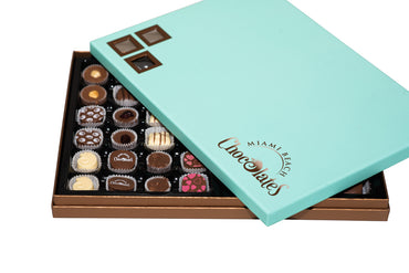 Miami Beach Chocolates Combo Deluxe Box