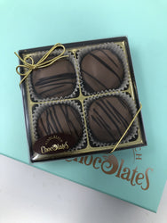 4pc Chocolate Covered Caramel Oreo box (Pack of 3 Boxes)
