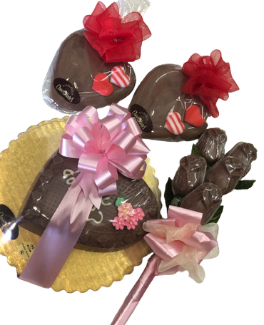 Valentines Chocolate heart Bundle