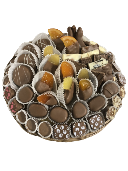 Adult fruit And Chocolate Gift Basket