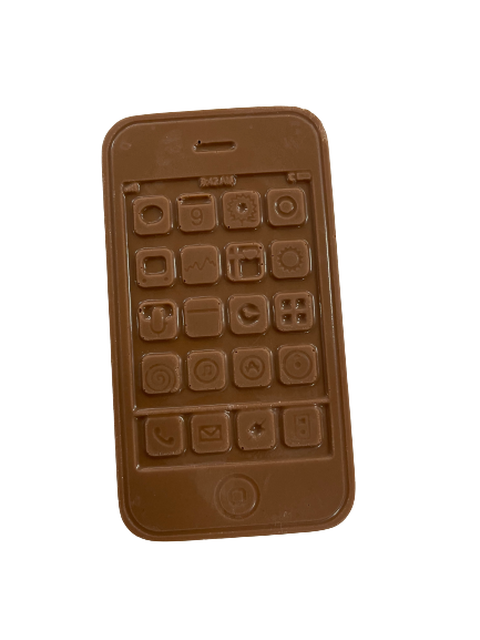 Solid chocolate Iphone ( 4 Pack )