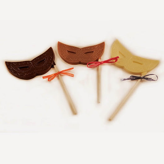 Chocolate Mask Lollipop (4 Pack)
