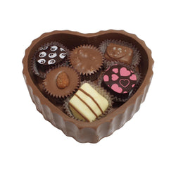 Miami Beach Premium Edible Heart Box w/ Chocolates