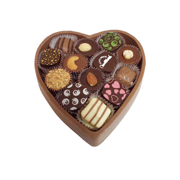 Miami Beach Deluxe Edible Heart Box w/ Chocolates