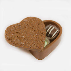 Miami Beach Classic Edible Heart Box w/ Chocolates